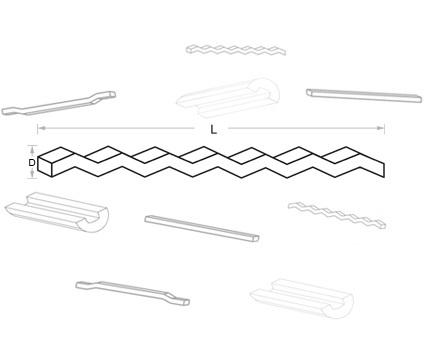 Fibras de Aço para Concretos