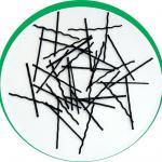 Fibra sintética para reforço concreto